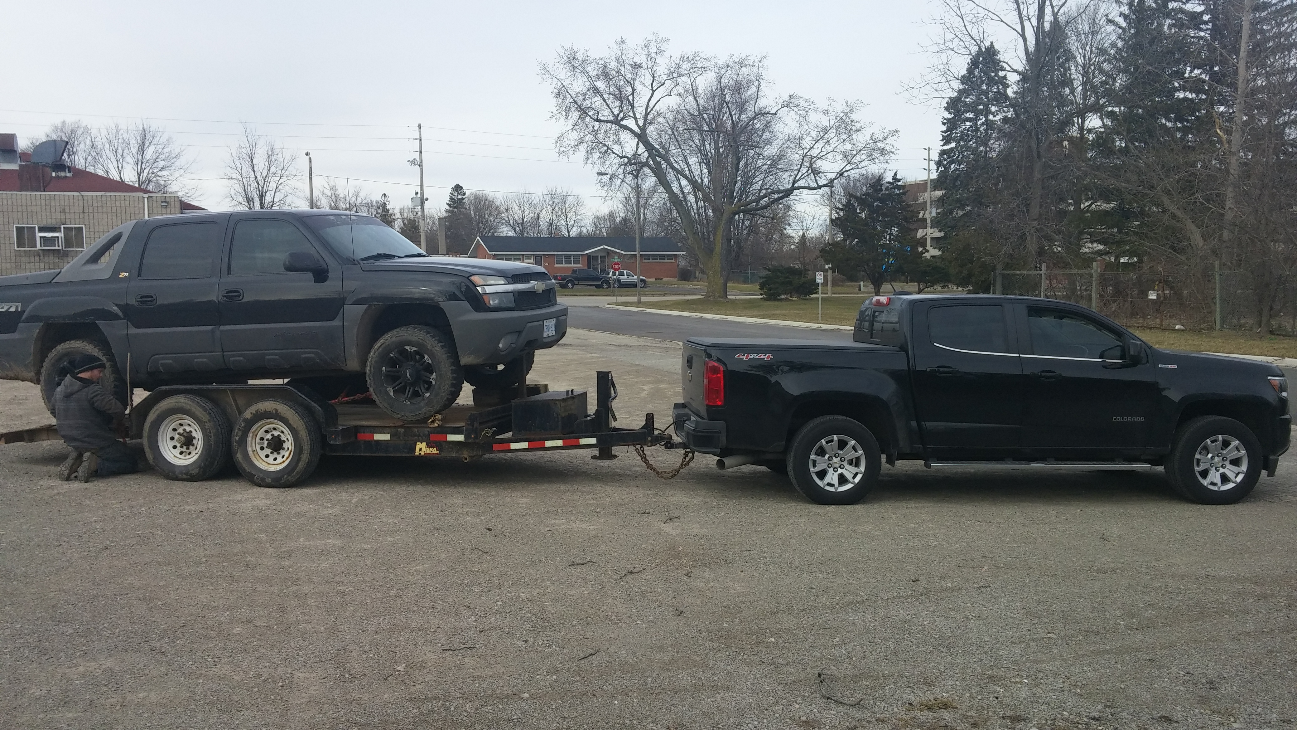 Towing 7000lbs