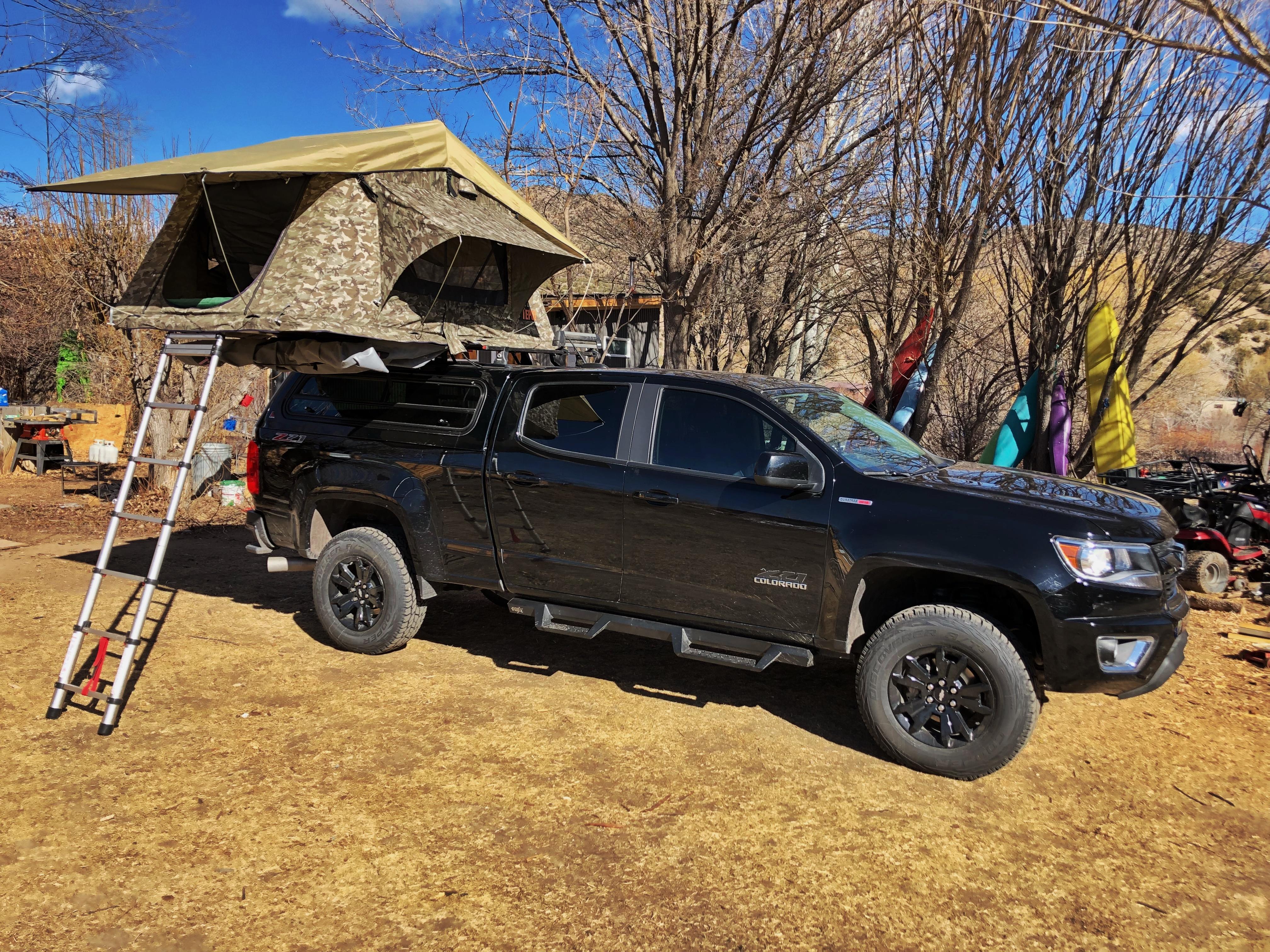 Truck Bed Tent Chevy Colorado Diesel Forum