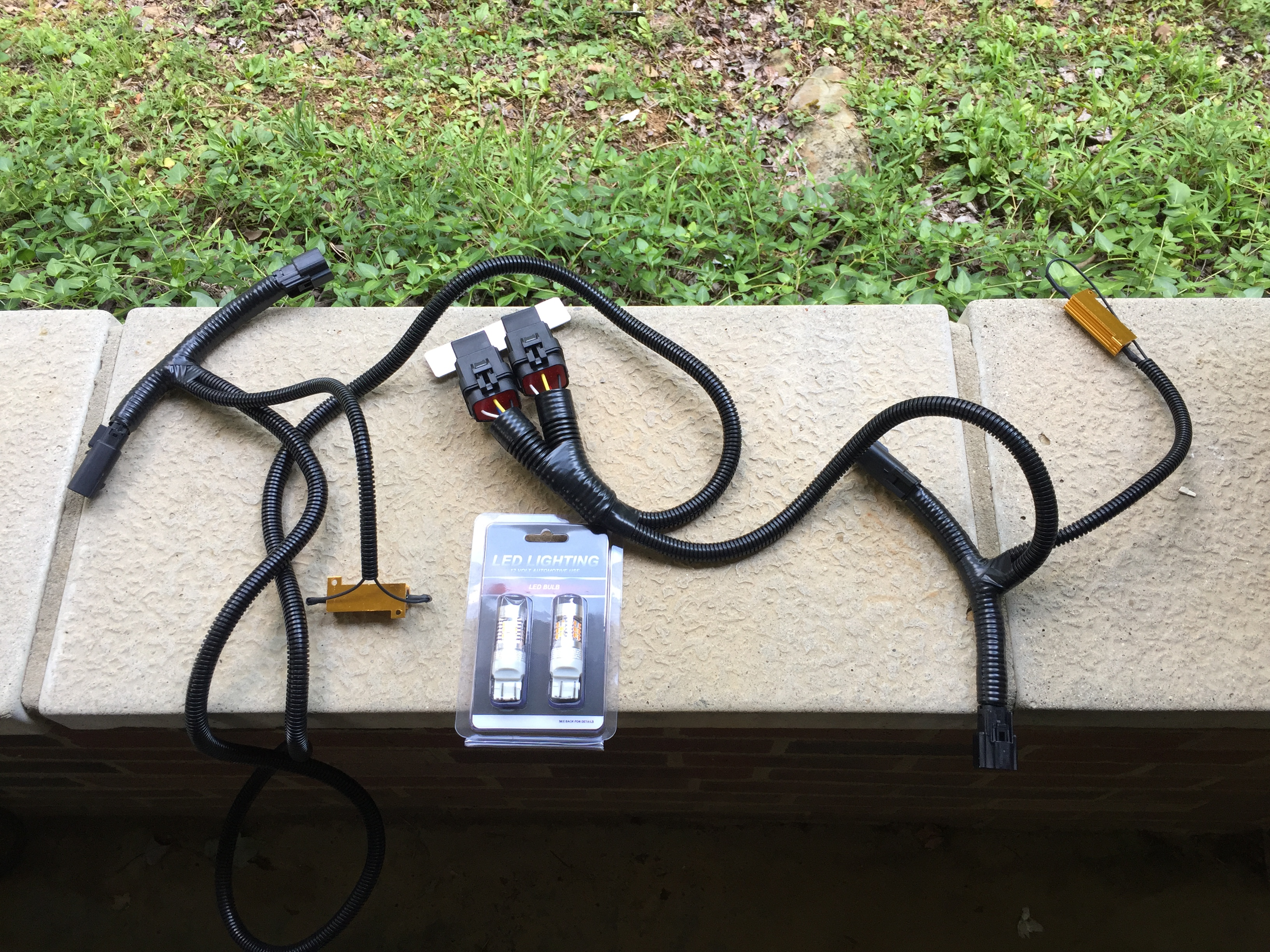 Drl Relocation Kit Colorado Diesel Forum Led Switch Back Wiring Img 1471
