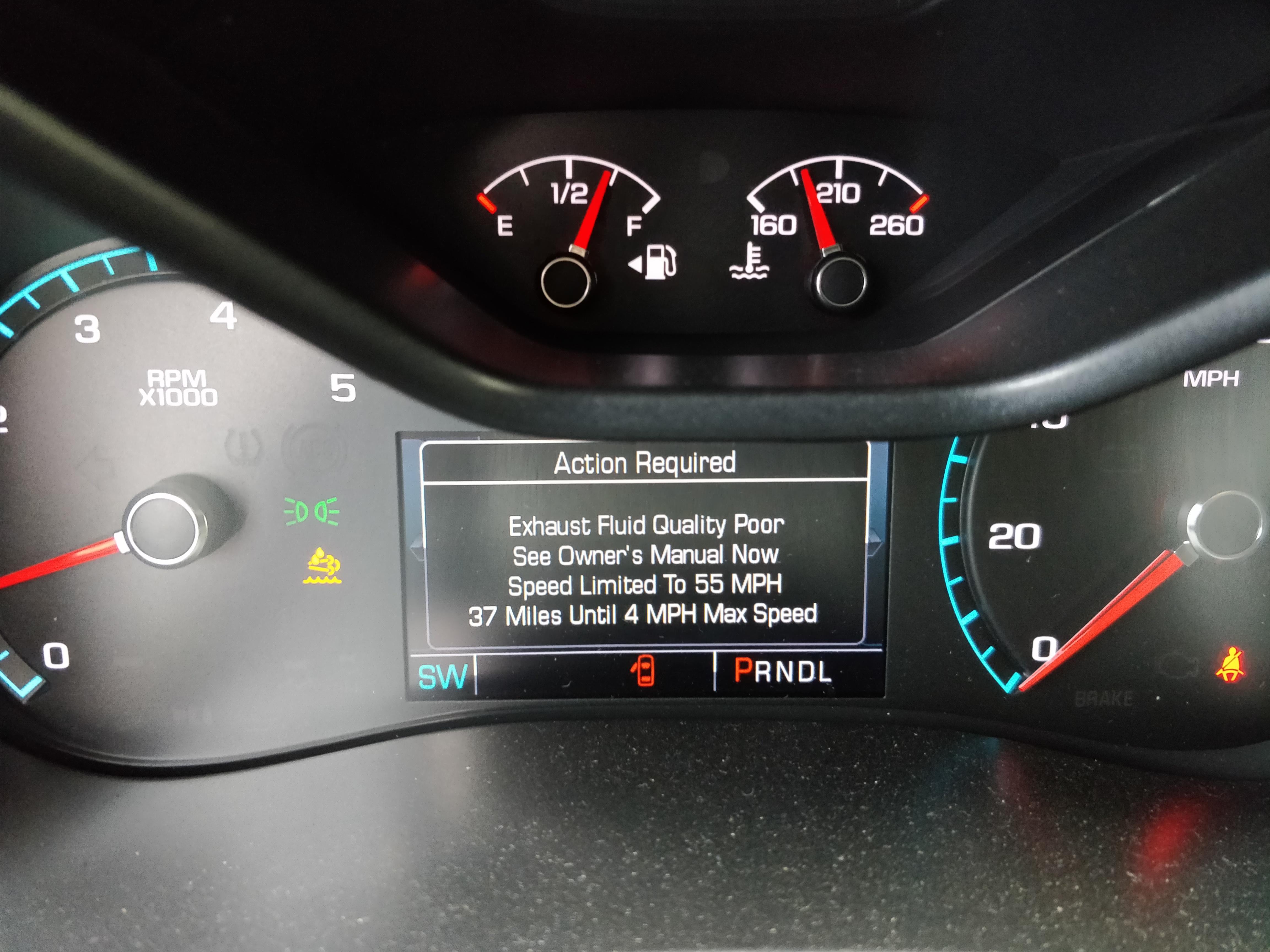 Def Delete Duramax >> After Delete Issue Update Problem Solved Colorado Diesel